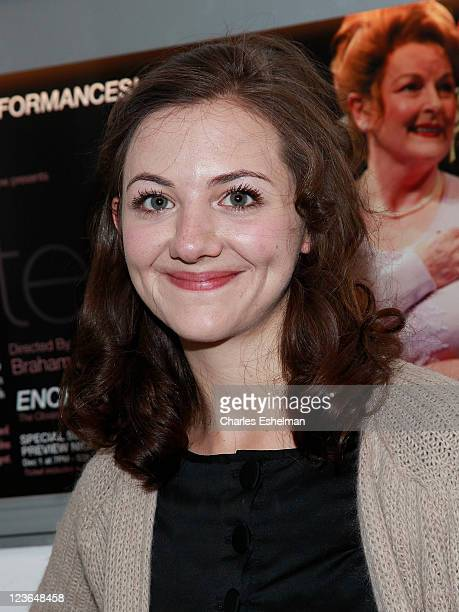 Actress Beth Cooke attends the opening night of Haunted at 59E59 Theaters on December 8 2010 in New York City