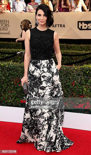 Actress Beth Dover arrives at the 23rd Annual Screen Actors Guild Awards at The Shrine Expo Hall on January 29 2017 in Los Angeles California