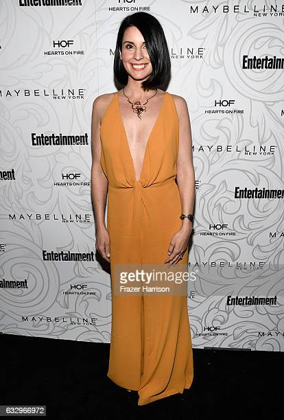 Actress Beth Dover attends the Entertainment Weekly Celebration of SAG Award Nominees sponsored by Maybelline New York at Chateau Marmont on January...