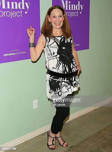 Actress Beth Grant attends a For Your Consideration panel for the show 'The Mindy Project' at UCB Sunset Theater on June 8 2016 in Los Angeles...