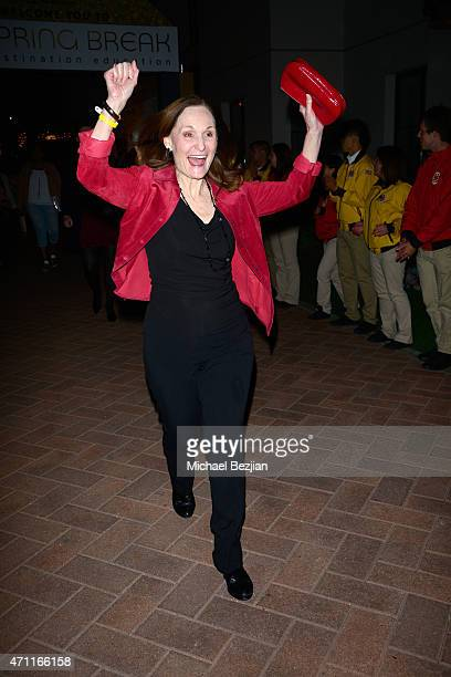 Actress Beth Grant attends City Year Los Angeles Spring Break at Sony Studios on April 25 2015 in Los Angeles California