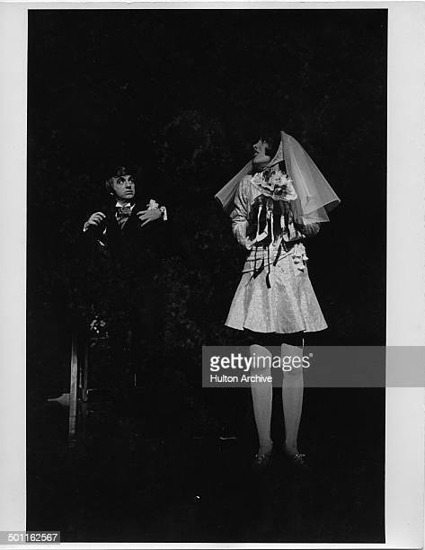 Actress Beth Howland performs during the stage play of Company in New York