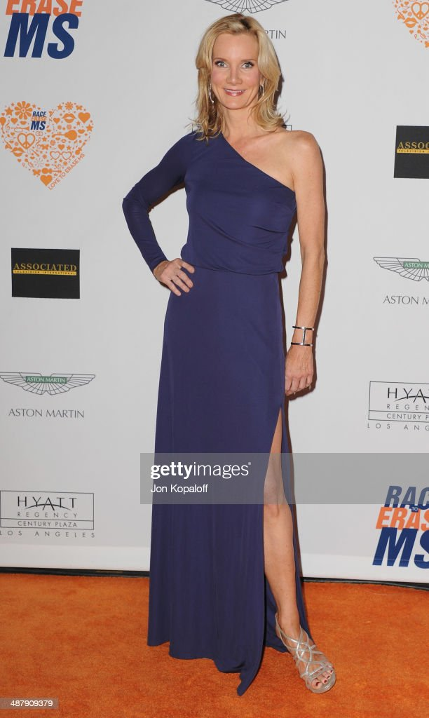 Actress Beth Littleford arrives at the 21st Annual Race To Erase MS Gala at the Hyatt Regency Century Plaza on May 2, 2014 in Century City, California.