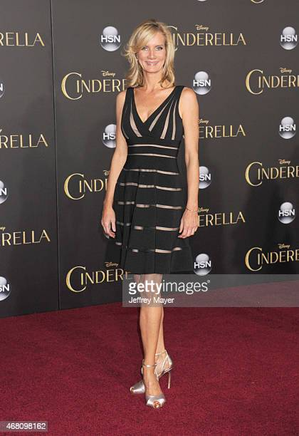 Actress Beth Littleford arrives at the World Premiere of Disney's 'Cinderella' at the El Capitan Theatre on March 1, 2015 in Hollywood, California.