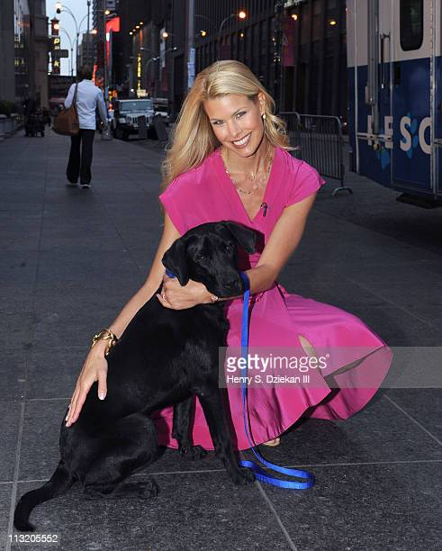 Actress Beth Ostrosky Stern visits FOX Friends at FOX Studios on April 27 2011 in New York City