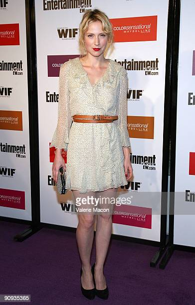 Actress Beth Riesgraf arrives at the Entertainment Weekly And Women In Film's PreEmmy Party on September 17 2009 in Los Angeles California