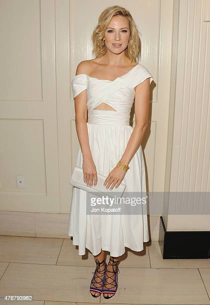 Actress Beth Riesgraf arrives at TheWrap's 2nd Annual Emmy Party at The London on June 11 2015 in West Hollywood California