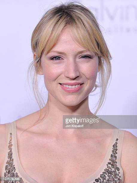Actress Beth Riesgraf arrives to Calvin Klein Men's And Women's Spring 2010 Collections Preview Benefit on January 28 2010 in Los Angeles California