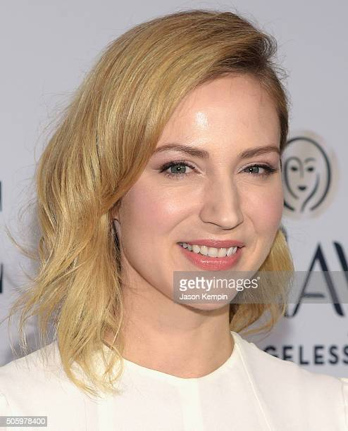 Actress Beth Riesgraf attends ELLE's 6th Annual Women In Television Dinner at Sunset Tower Hotel on January 20 2016 in West Hollywood California