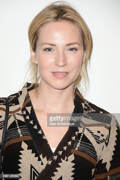 Actress Beth Riesgraf attends Rosson Crow's private preview of Madame Psychosis Holds A Seance on November 6 2015 in Culver City California
