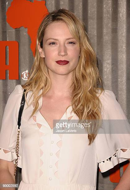 Actress Beth Riesgraf attends The African Bazaar on November 11 2009 in Los Angeles California