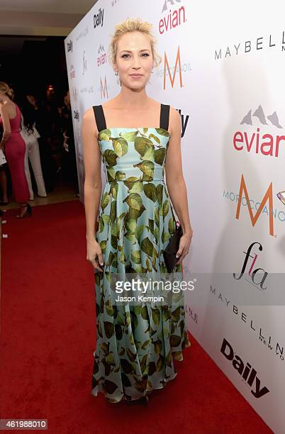 Actress Beth Riesgraf attends The DAILY FRONT ROW Fashion Los Angeles Awards Show at Sunset Tower on January 22 2015 in West Hollywood California