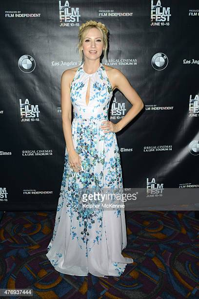 Actress Beth Riesgraf attends the Shut In and Kitchen screenings during the 2015 Los Angeles Film Festival at Regal Cinemas LA Live on June 12 2015...