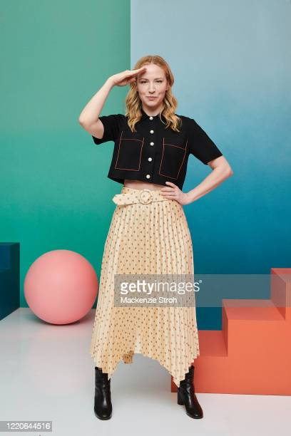 Actress Beth Riesgraf is photographed for Entertainment Weekly Magazine on February 27, 2020 at Savannah College of Art and Design in Savannah,...