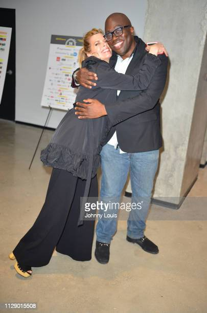 Actress Beth Toussaint and Director Julius Amedume attend the 2019 Miami Film Festival 'RATTLESNAKES' Screening at Silverspot Cinema Downtown Miami...