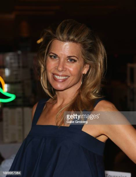 Actress Beth Toussaint attends the 17th annual official Star Trek convention at the Rio Hotel Casino on August 2 2018 in Las Vegas Nevada