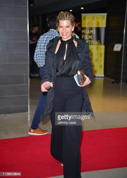 Actress Beth Toussaint attends the 2019 Miami Film Festival 'RATTLESNAKES' Screening at Silverspot Cinema Downtown Miami on March 6 2019 in Miami...