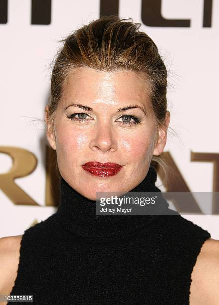 Actress Beth Toussaint Coleman arrives at The Weinstein Company premiere of The Great Debaters at ArcLight Cinemas on December 11 2007 in Hollywood...
