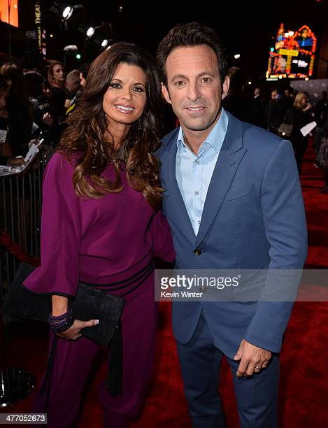 Actress Beth Waugh and director/executive producer Scott Waugh arrive at the premiere of DreamWorks Pictures' 'Need For Speed' at TCL Chinese Theatre...