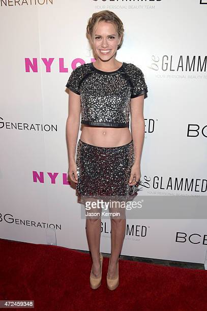 Actress Bethany Joy Lenz attends the NYLON Young Hollywood Party presented by BCBGeneration at HYDE Sunset Kitchen Cocktails on May 7 2015 in West...