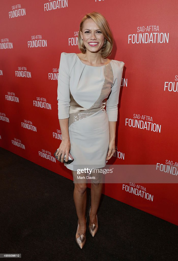 Actress Bethany Joy Lenz attends the Screen Actors Guild Foundation 30th Anniversary Celebration at Wallis Annenberg Center for the Performing Arts on November 5, 2015 in Beverly Hills, California.