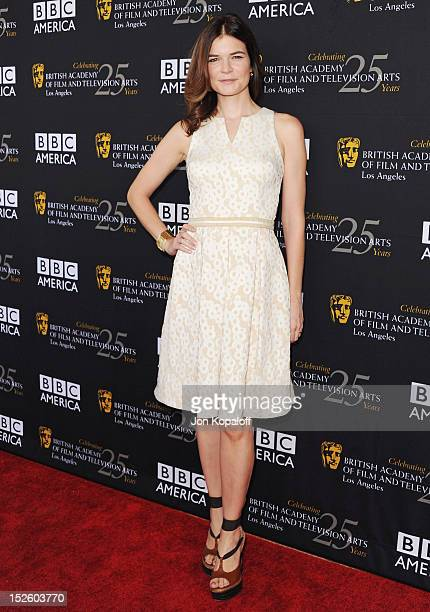 Actress Betsy Brandt arrives at the BAFTA Los Angeles TV Tea 2012 Presented By BBC America at The London Hotel on September 22, 2012 in West...
