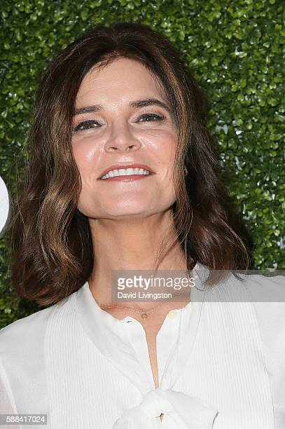 Actress Betsy Brandt arrives at the CBS CW Showtime Summer TCA Party at the Pacific Design Center on August 10 2016 in West Hollywood California