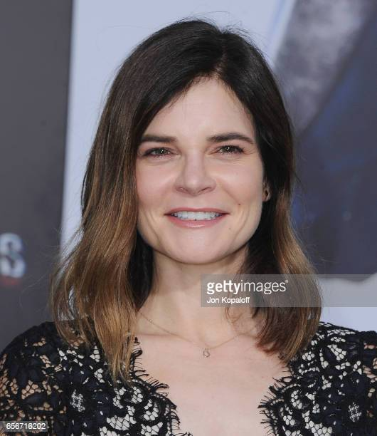 Actress Betsy Brandt arrives at the Los Angeles Premiere 'Power Rangers' at the Westwood Village Theater on March 22 2017 in Westwood California