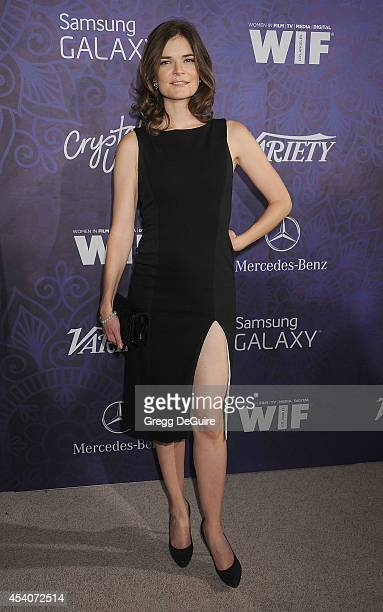 Actress Betsy Brandt arrives at the Variety And Women In Film Annual PreEmmy Celebration at Gracias Madre on August 23 2014 in West Hollywood...