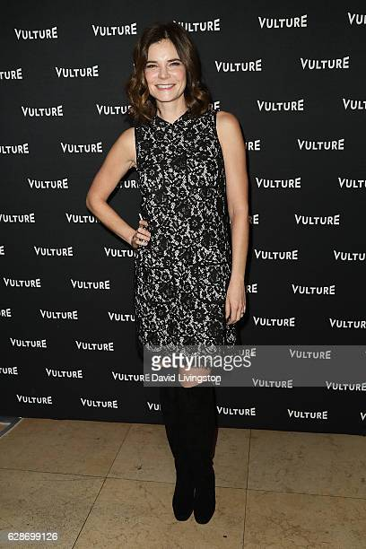Actress Betsy Brandt arrives at the Vulture Awards Season Party at the Sunset Tower Hotel on December 8 2016 in West Hollywood California