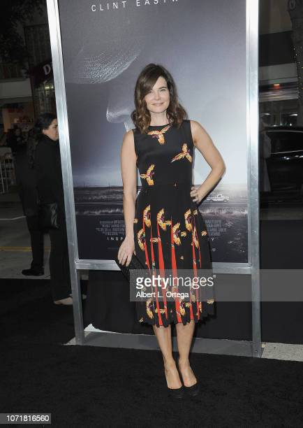 Actress Betsy Brandt arrives for the Warner Bros Pictures World Premiere Of The Mule held at Regency Village Theatre on December 10 2018 in Westwood...