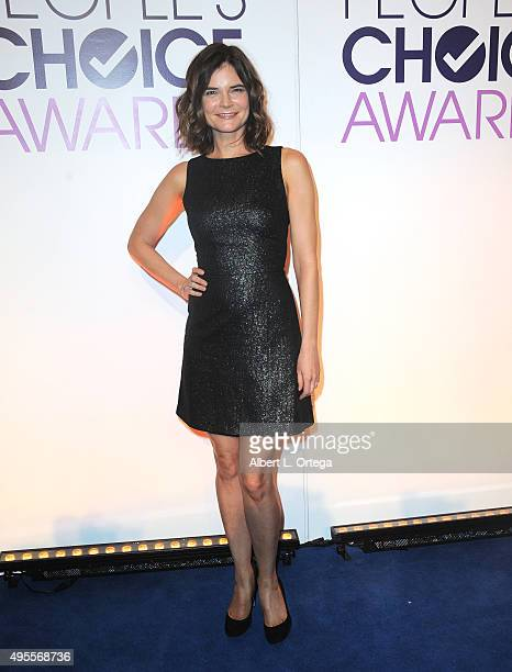 Actress Betsy Brandt at the People's Choice Awards 2016 Nominations Press Conference held at The Paley Center for Media on November 3 2015 in Beverly...