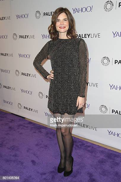 Actress Betsy Brandt attends an evening with 'Life In Pieces' at The Paley Center for Media on December 14 2015 in Beverly Hills California