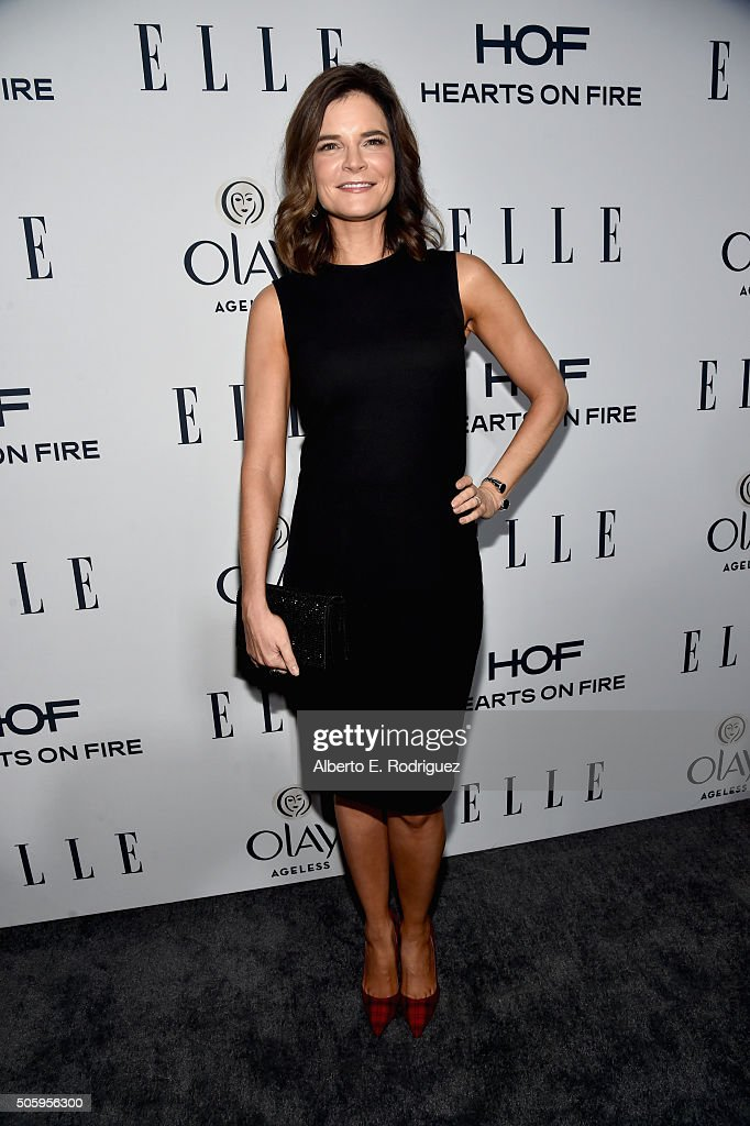 Actress Betsy Brandt attends ELLE's 6th Annual Women in Television Dinner Presented by Hearts on Fire Diamonds and Olay at Sunset Tower on January 20, 2016 in West Hollywood, California.