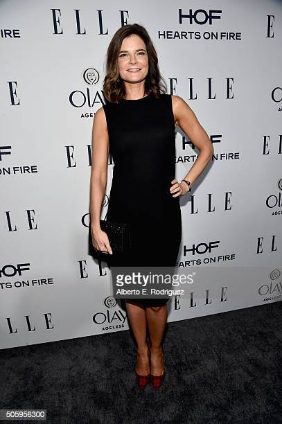 Actress Betsy Brandt attends ELLE's 6th Annual Women in Television Dinner Presented by Hearts on Fire Diamonds and Olay at Sunset Tower on January 20...