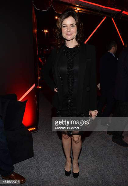 Actress Betsy Brandt attends Golden Globes Weekend Audi Celebration at Cecconi's on January 9 2014 in Beverly Hills California