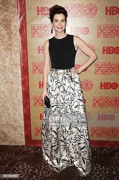 Actress Betsy Brandt attends HBO's Golden Globe Awards after party at Circa 55 Restaurant on January 12 2014 in Los Angeles California