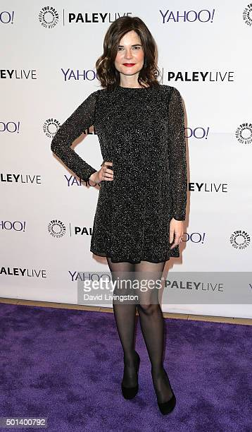 """Actress Betsy Brandt attends PaleyLive LA: An Evening with """"Life in Pieces"""" at The Paley Center for Media on December 14, 2015 in Beverly Hills,..."""