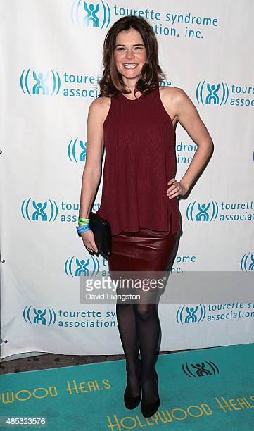 Actress Betsy Brandt attends the 2nd Annual Hollywood Heals Spotlight On Tourette Syndrome at House of Blues Sunset Strip on March 5 2015 in West...