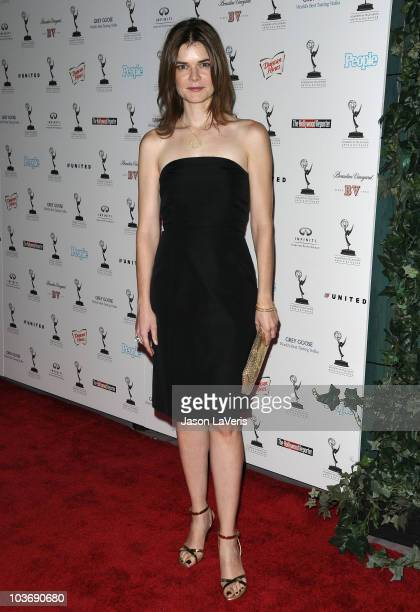 Actress Betsy Brandt attends the 62nd primetime Emmy Awards performers nominee reception at Pacific Design Center on August 27 2010 in West Hollywood...