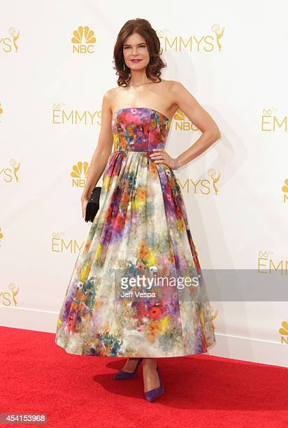 Actress Betsy Brandt attends the 66th Annual Primetime Emmy Awards held at Nokia Theatre LA Live on August 25 2014 in Los Angeles California