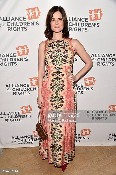 Actress Betsy Brandt attends the Alliance for Children's Rights' 24th annual dinner at The Beverly Hilton Hotel on March 10 2016 in Beverly Hills...