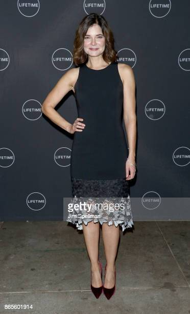 Actress Betsy Brandt attends the 'Flint' New York screening at NeueHouse Madison Square on October 23 2017 in New York City