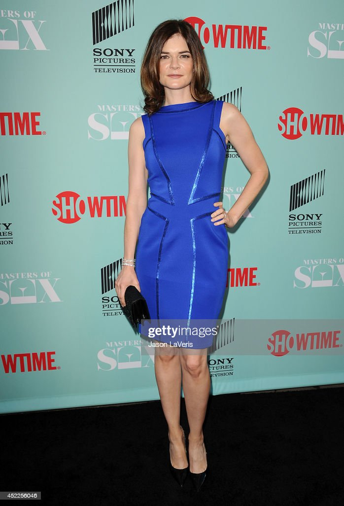Actress Betsy Brandt attends the 'Master of Sex' TCA event at Sony Pictures Studios on July 16, 2014 in Culver City, California.