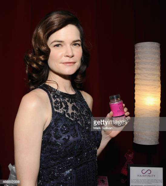 Actress Betsy Brandt Backstage Creations Celebrity Retreat at the 2014 Writers Guild Awards at JW Marriott Los Angeles at LA LIVE on February 1 2014...