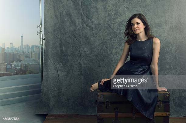 Actress Betsy Brandt is photographed for New York Moves on July 21 2014 in Hollywood California