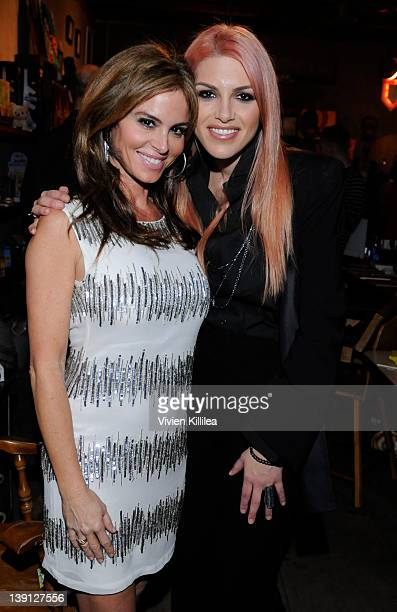 Actress Betsy Russell and jewelry designer Lauren Russell attend Fine Jewelry 2012 Collection Equality Bracelet Preview Party Benefiting Friendfactor...