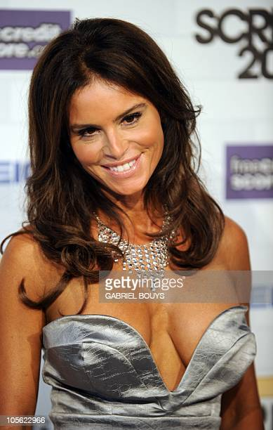 Actress Betsy Russell arrive at the 5th annual �Scream Awards� at the Greek Theatre in Los Angeles California on October 16 2010 AFP PHOTO / GABRIEL...