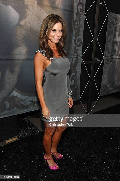 Actress Betsy Russell arrives at Spike TV's SCREAM 2011 awards held at Universal Studios on October 15 2011 in Universal City California