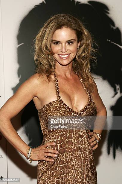 Actress Betsy Russell arrives at the world premiere of the movie Rambo held at the Planet Hollywood Resort and Casino in Las Vegas